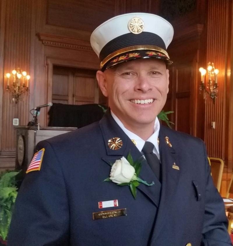 "Springfield Fire Commissioner Bernard ""BJ"" Calvi"