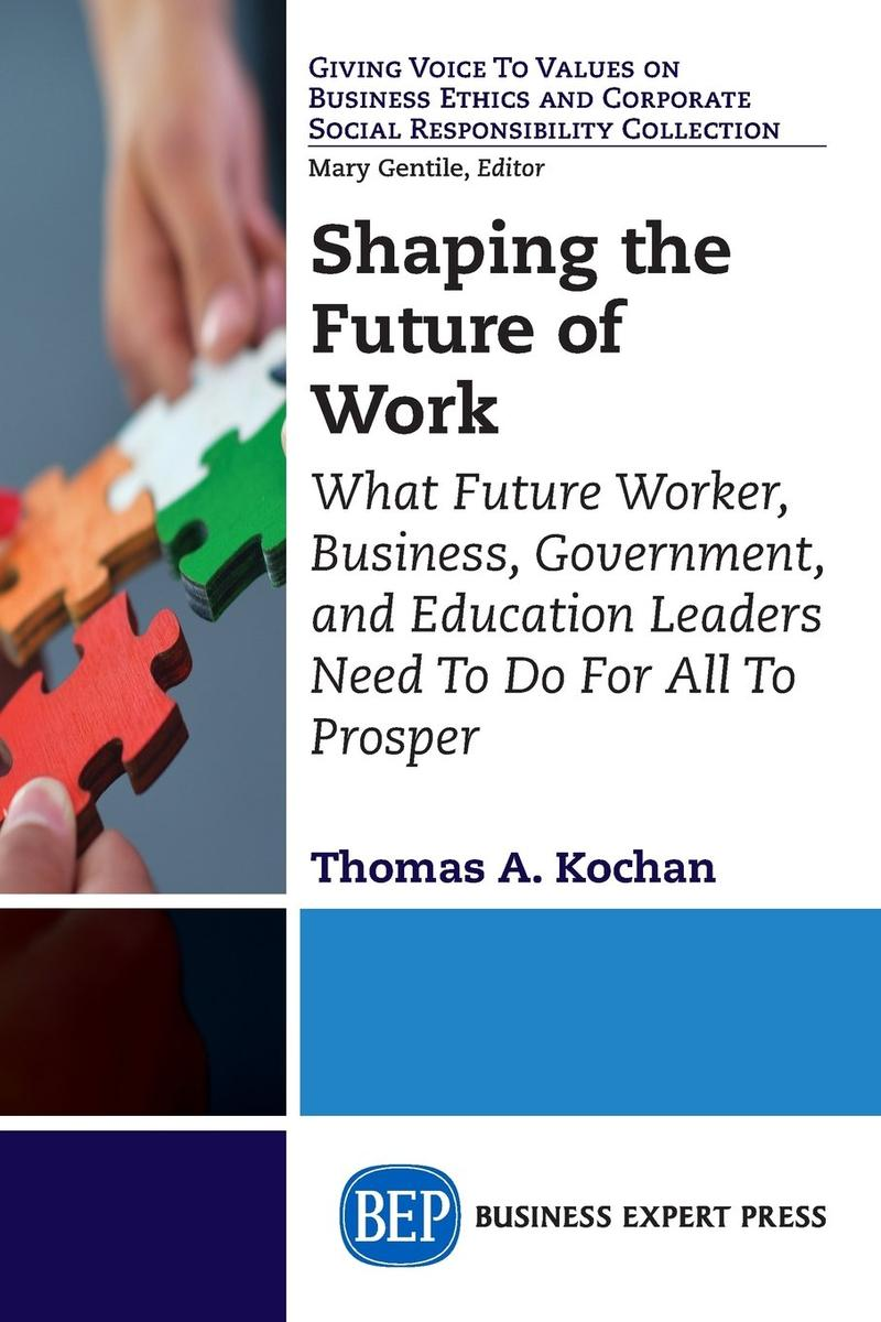 Book Cover - Shaping the Future of Work