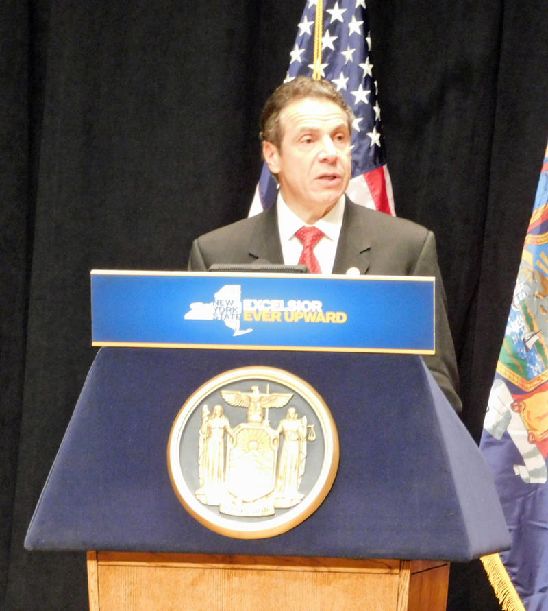 Governor Andrew Cuomo announces broadband funding in Plattsburgh