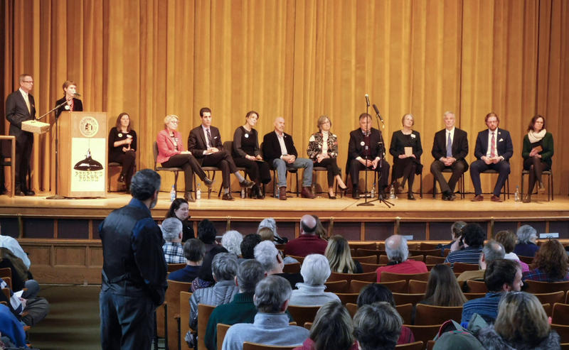 NY21 Congressional candidates attend People's Forum at SUNY Plattsburgh