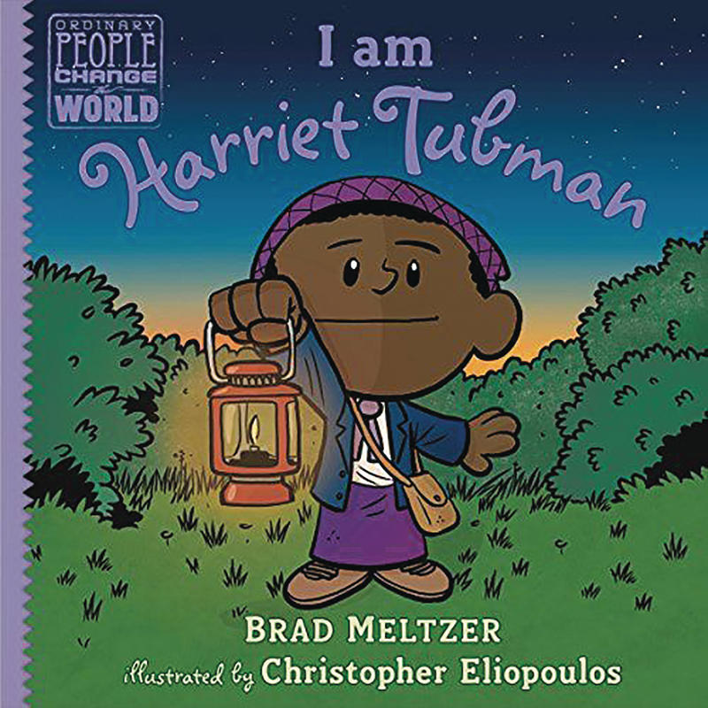 Book Cover - I Am Harriet Tubman