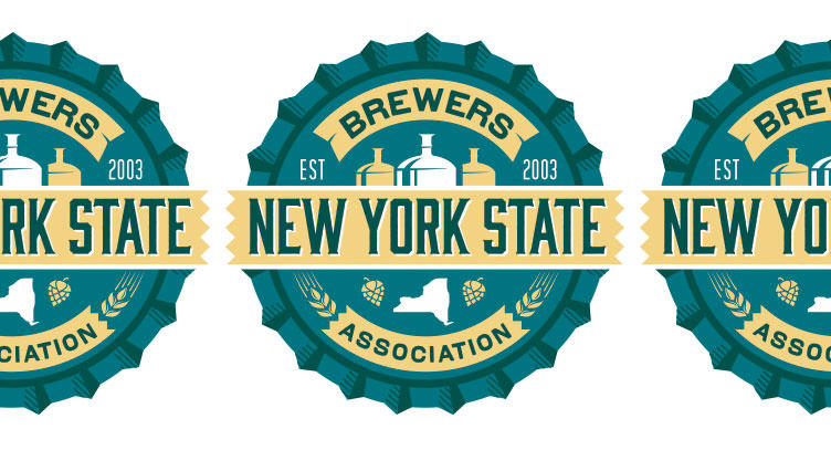 New York State Craft Brewers Association logo