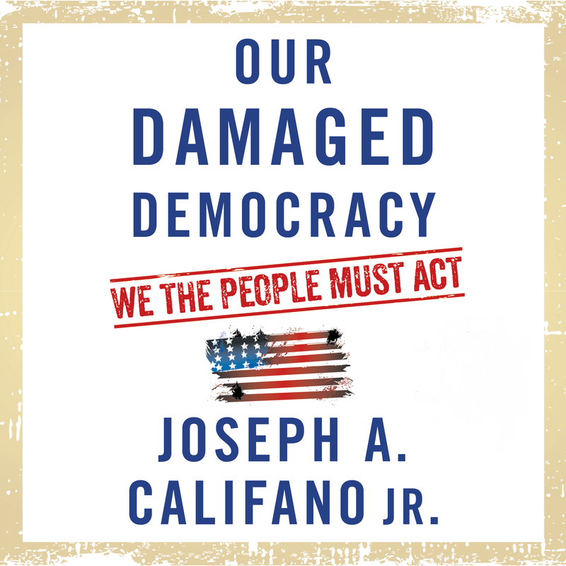 Book Cover - Our Damaged Democracy