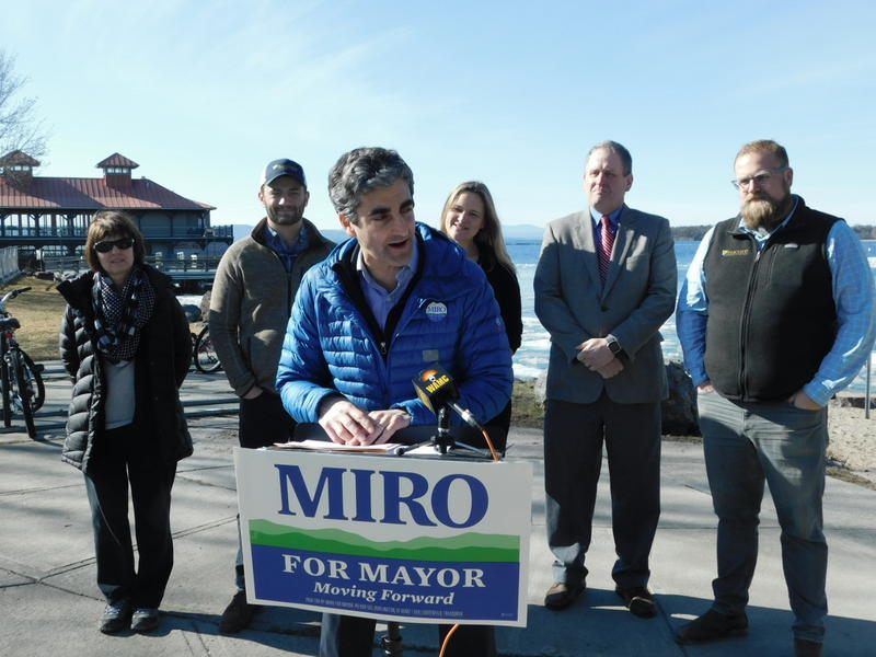 Burlington Mayor Miro Weinberger talks about environmental priorities