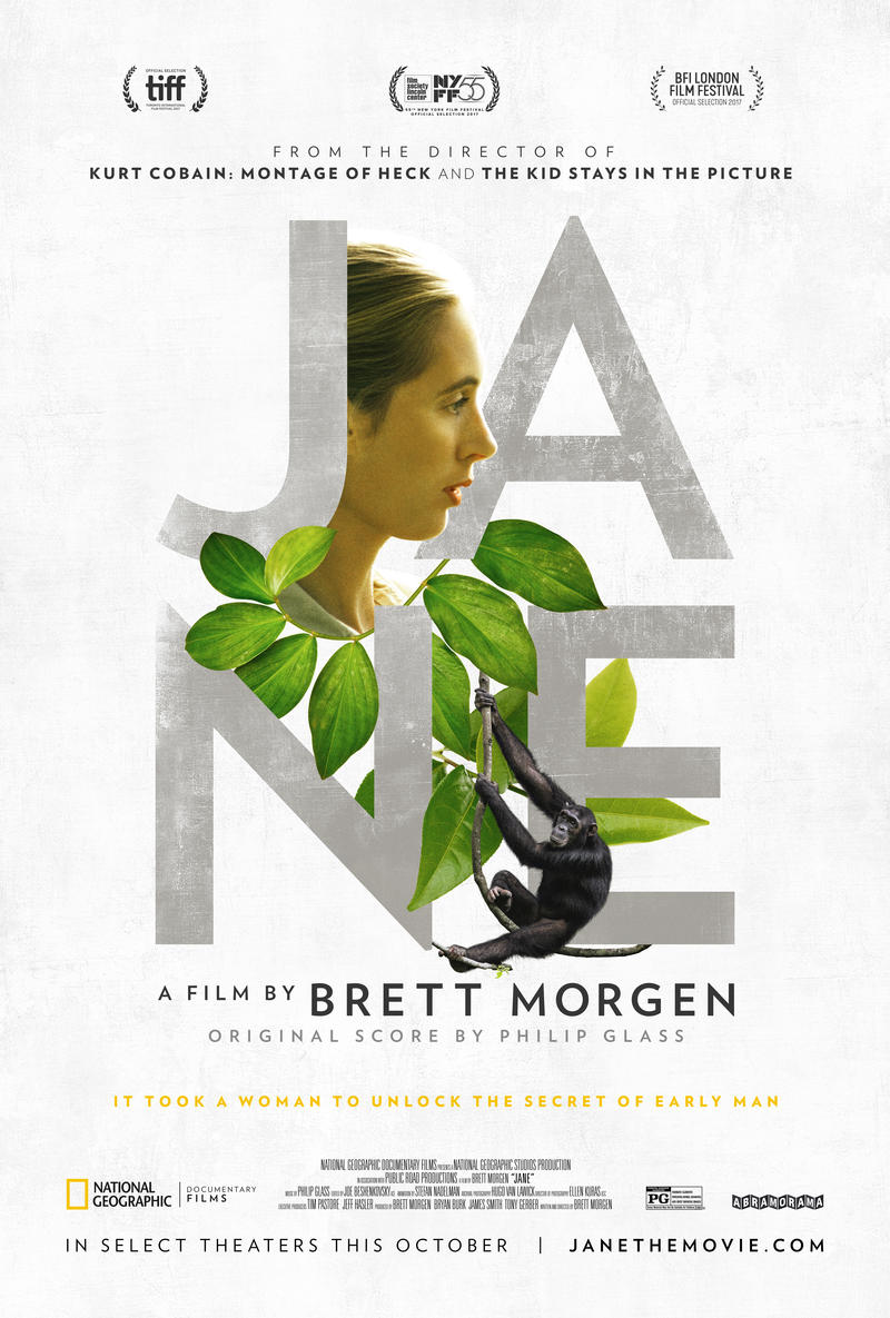 "Poster for the movie ""JANE"""