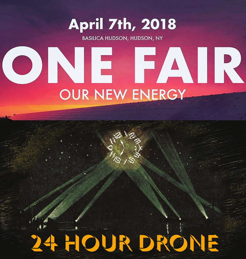 Basilica Hudson One Fair and 24-Hour Drone artwork