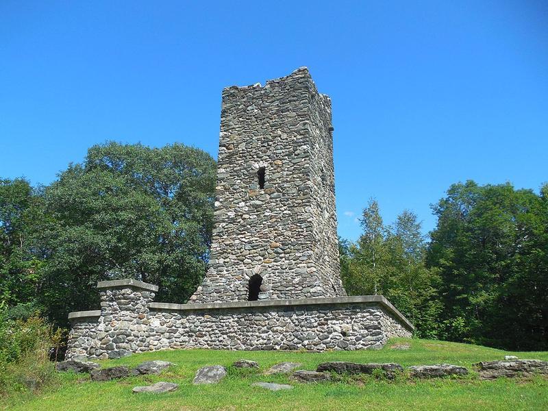 Hubbard Park Observation Tower in Montpelier, Vermont