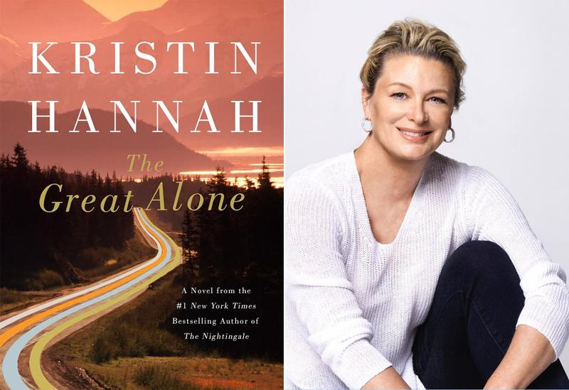Book Cover - The Great Alone and author Kristin Hannah