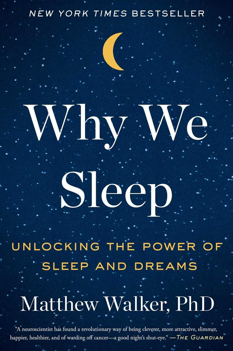 Book Cover - Why We Sleep
