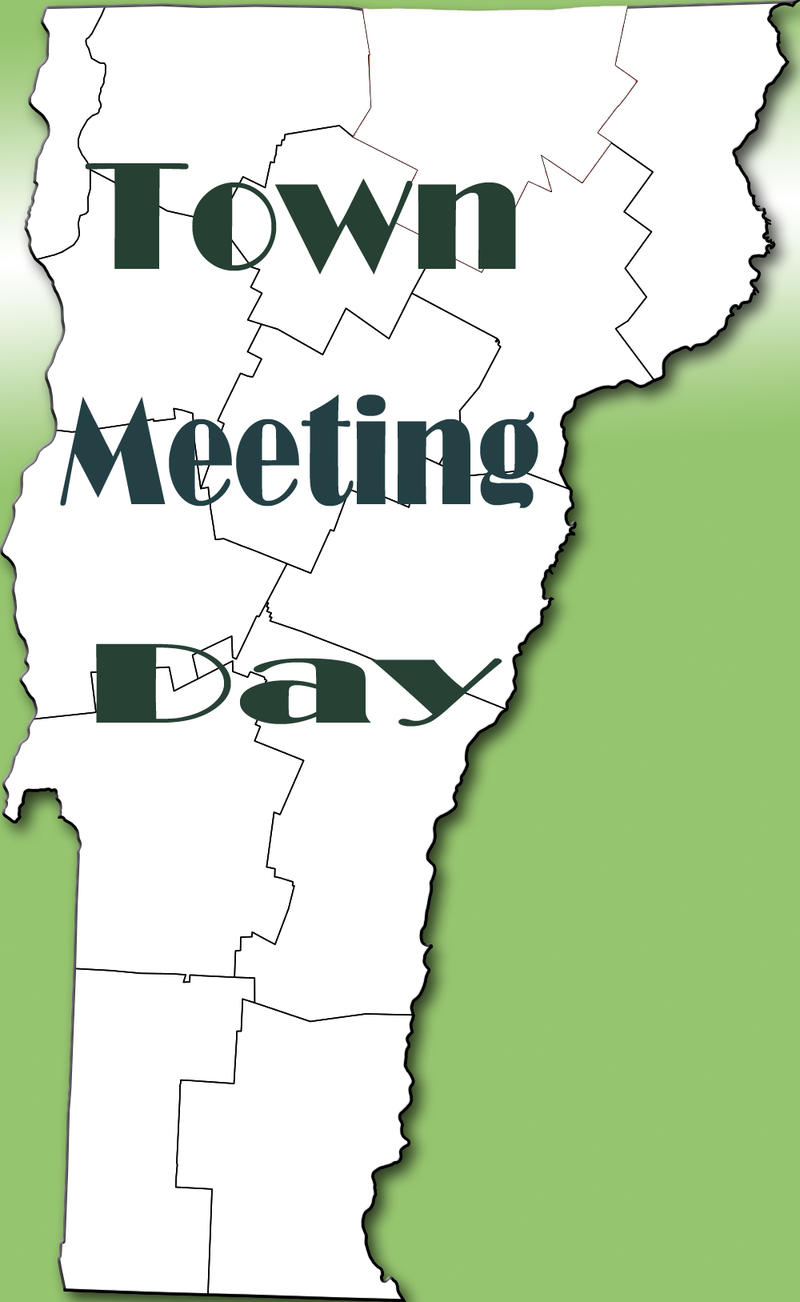 Vermont Town Meeting Day graphic