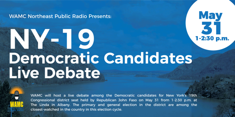 NY-19 Debate logo