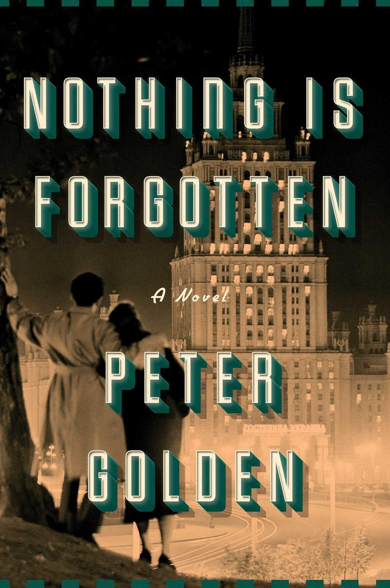 Book Cover - Nothing is Forgotten