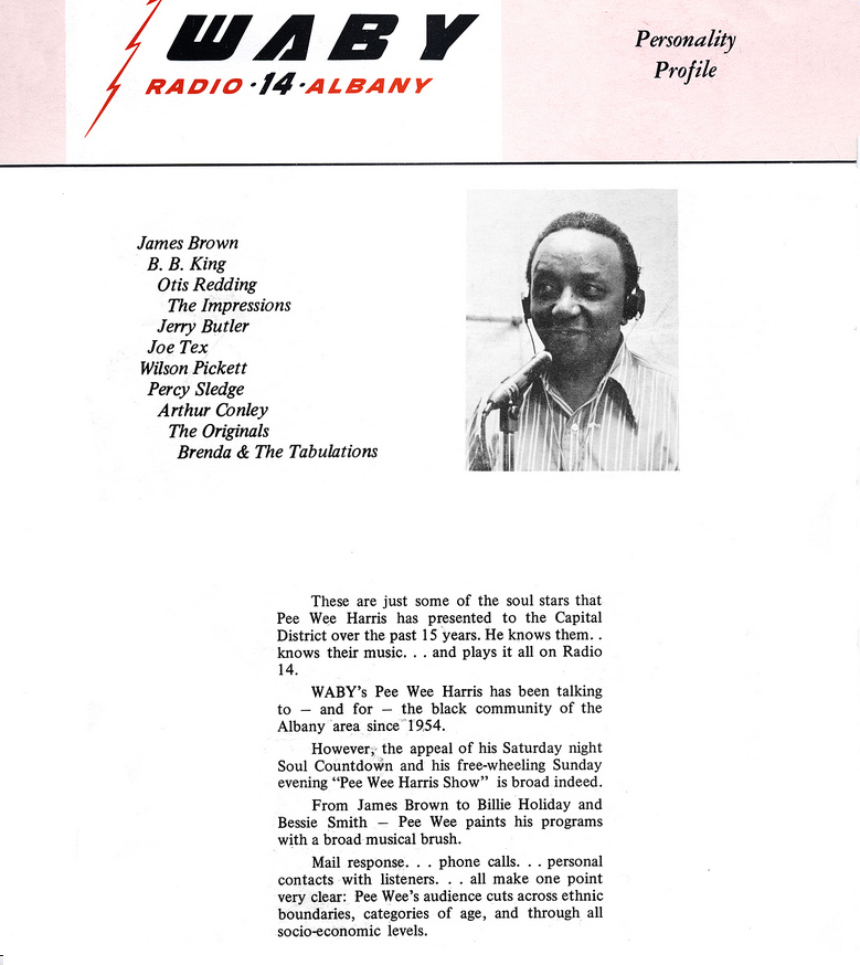 Albany radio legend Edward