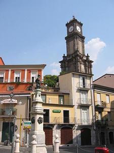 la Piazza Amendola, Avellino, Campania, Italy
