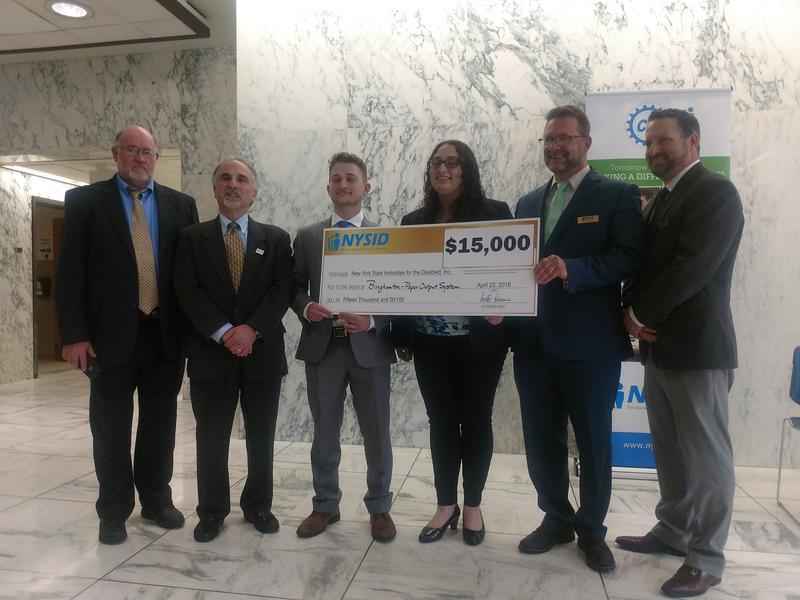 Binghamton University Wins CREATE