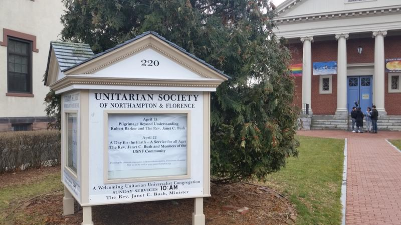 The church in downtown Northampton is providing sanctuary to a woman fighting deportation to Russia