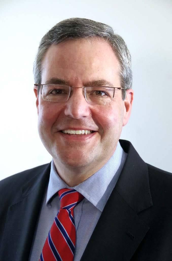 Champlain College President Donald Laackman
