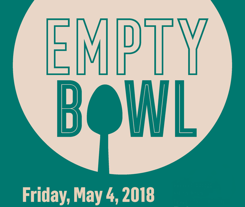 Empty Bowl fundraiser artwork