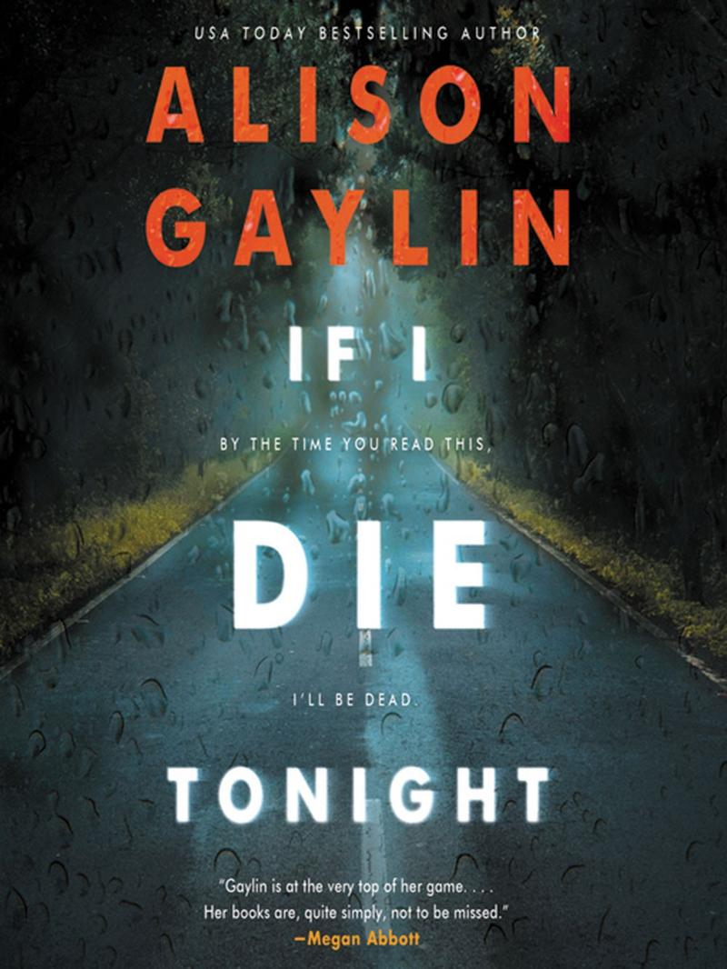 Book Cover - If I Die Tonight