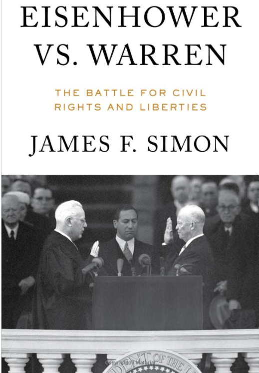 Book Cover - Eisenhower vs. Warren