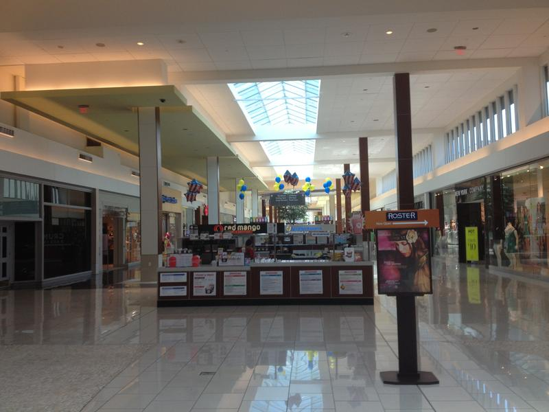 A view of the Cherry Hill Mall in Cherry Hill, New Jersey from Macy's