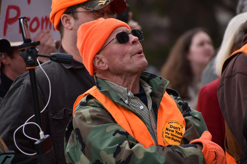 gun rights protester