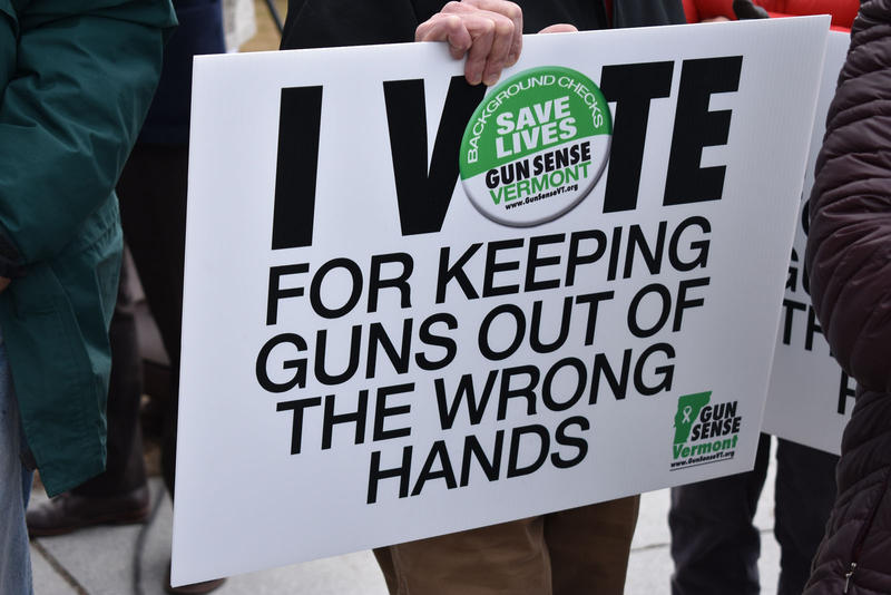 Gun Sense Vermont poster