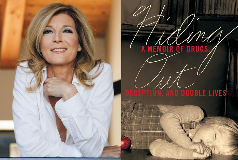 Tina Alexis Allen author photo and book cover for Hiding Out