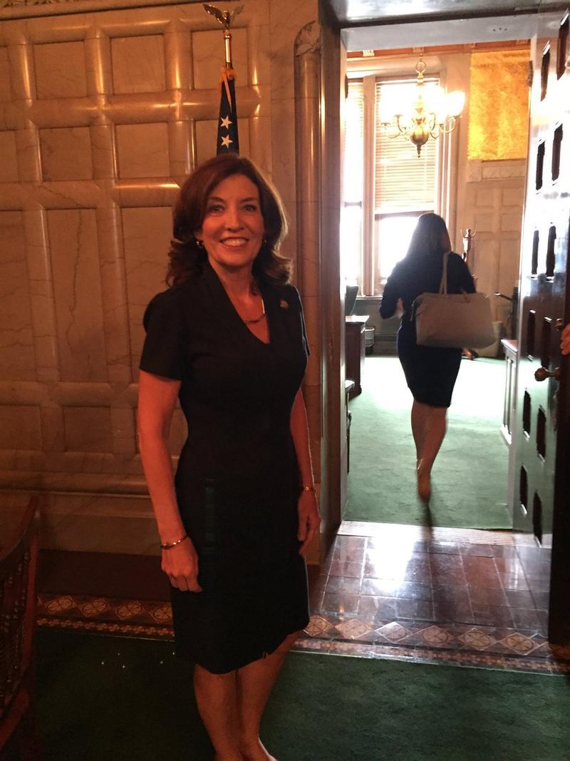 NY Lt. Gov. Kathy Hochul