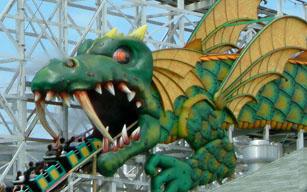 Dragon Coaster at Playland, Rye, NY