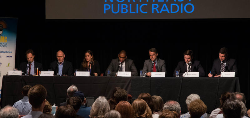 The candidates debating Thursday at WAMC's Linda