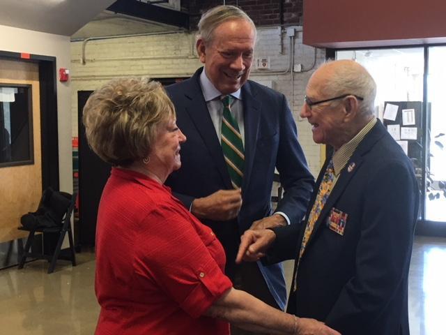 Former NY Governor George Pataki with NYS Senator Bill Larkin and Pat Larkin