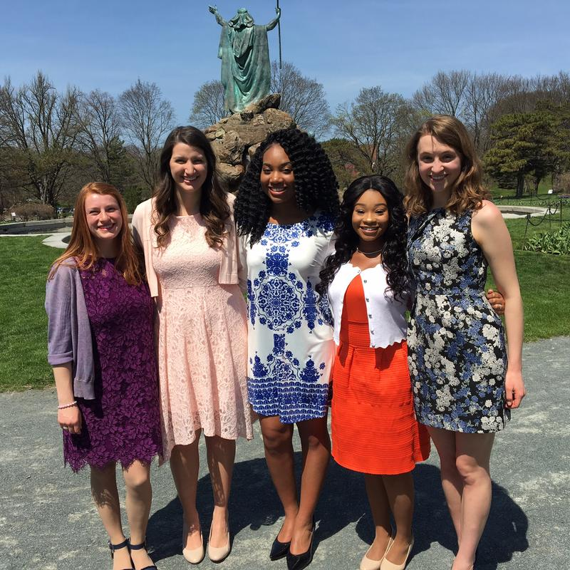 The finalists are Sawyer Cresap, Xavia Francis and Elizabeth Stenard of Albany, Natalie Joseph of Guilderland and Katherine Donnelly of Latham.
