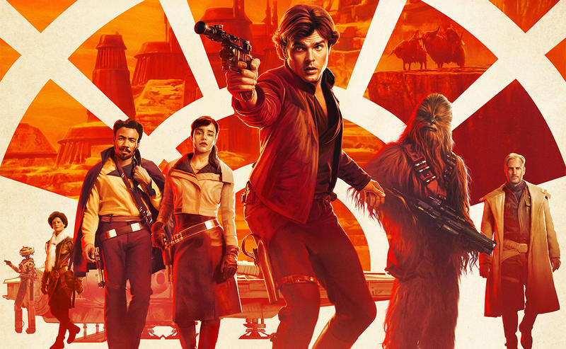 Cast poster for SOLO