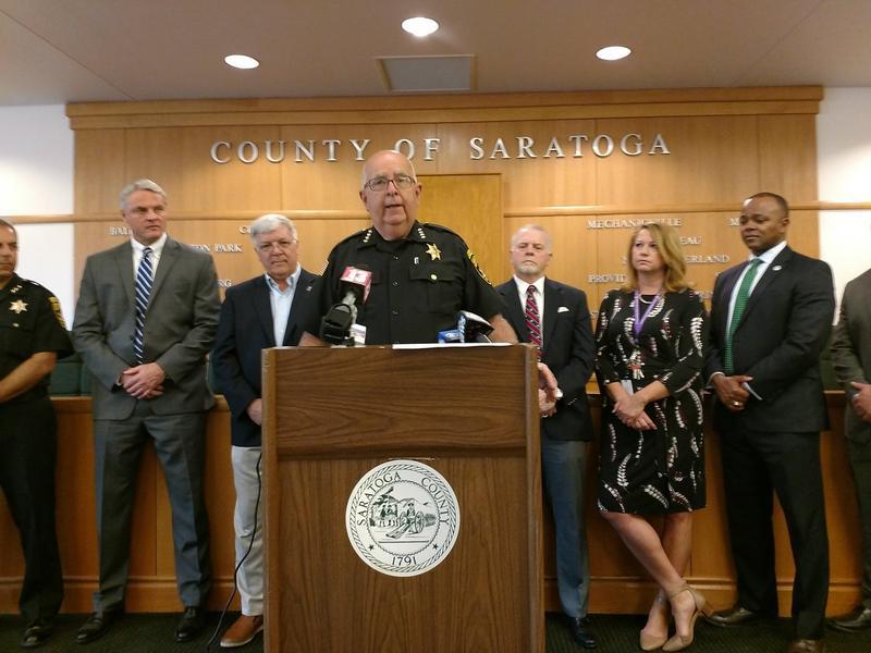 Saratoga County Sheriff Michael Zurlo