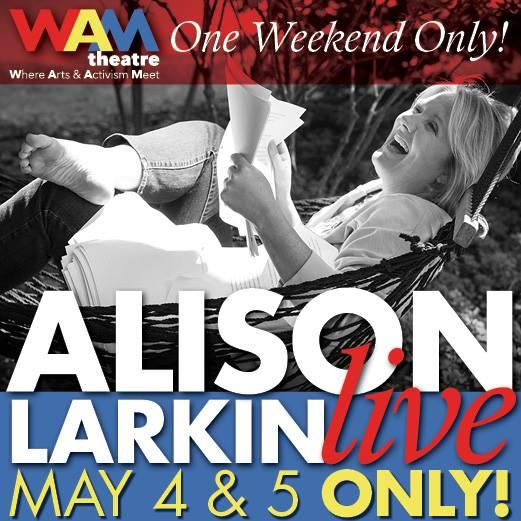 Artwork for Alison Larkin LIVE presented by WAM