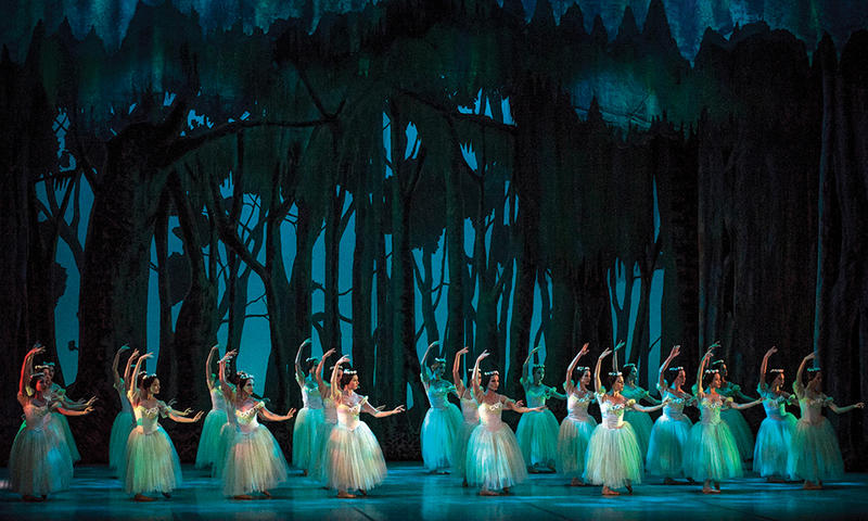 "Ballet Nacional de Cuba perform Alicia Alonso's magical ""Giselle"""