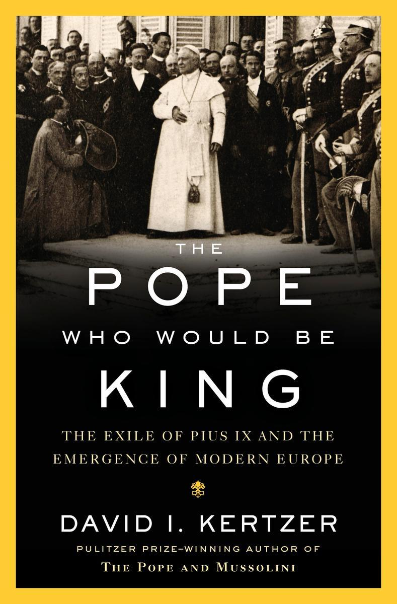 Book Cover - The Pope Who Would Be King