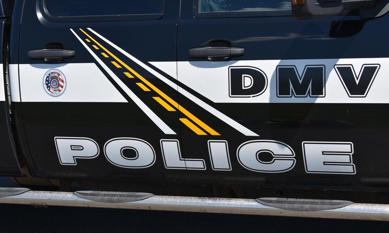 Vermont DMV Police vehicle