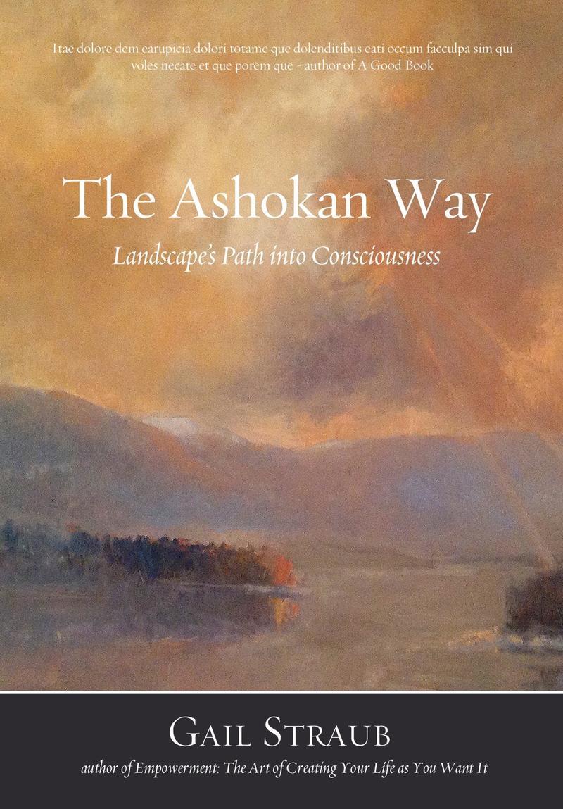 Book Cover - The Ashokan Way: Landscape's Path into Consciousness