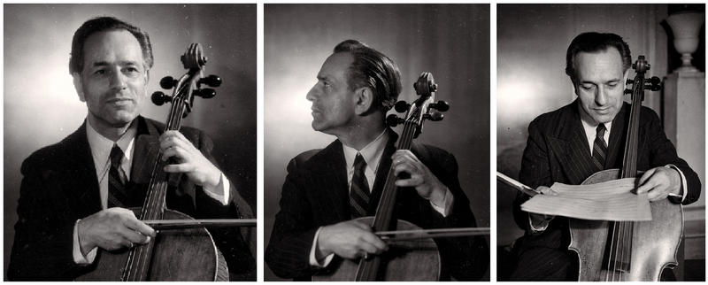 "Gaspar Cassadó images from the liner notes of ""GASPAR CASSADÓ plays Beethoven, Bach, Cassadó, Granados, Mozart, Schumann and Brahms"""