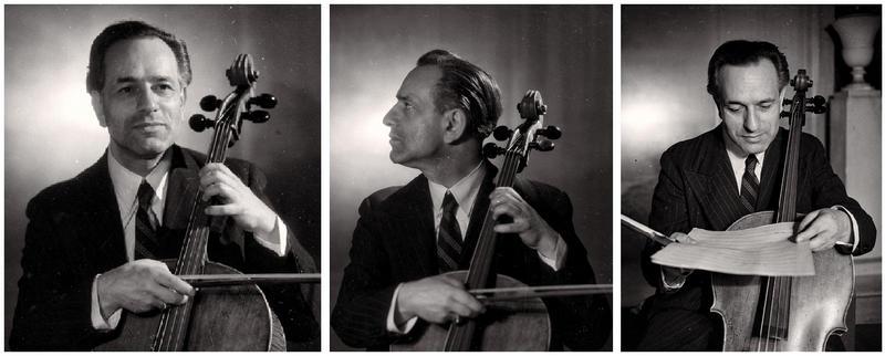 Gaspar Cassadó images from the liner notes of