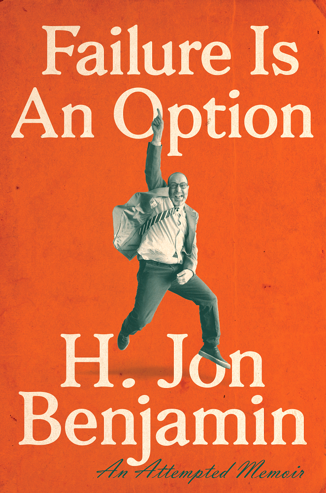 Book Cover - Failure is an Option