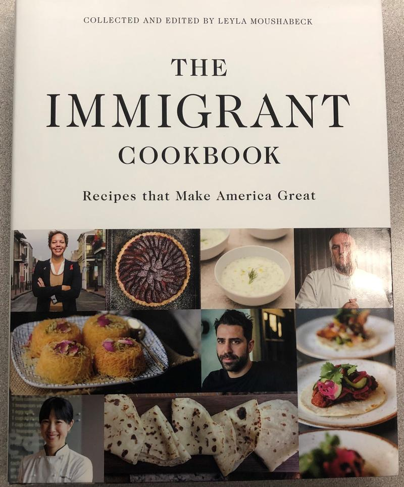 The cover of The Immigrant Cookbook