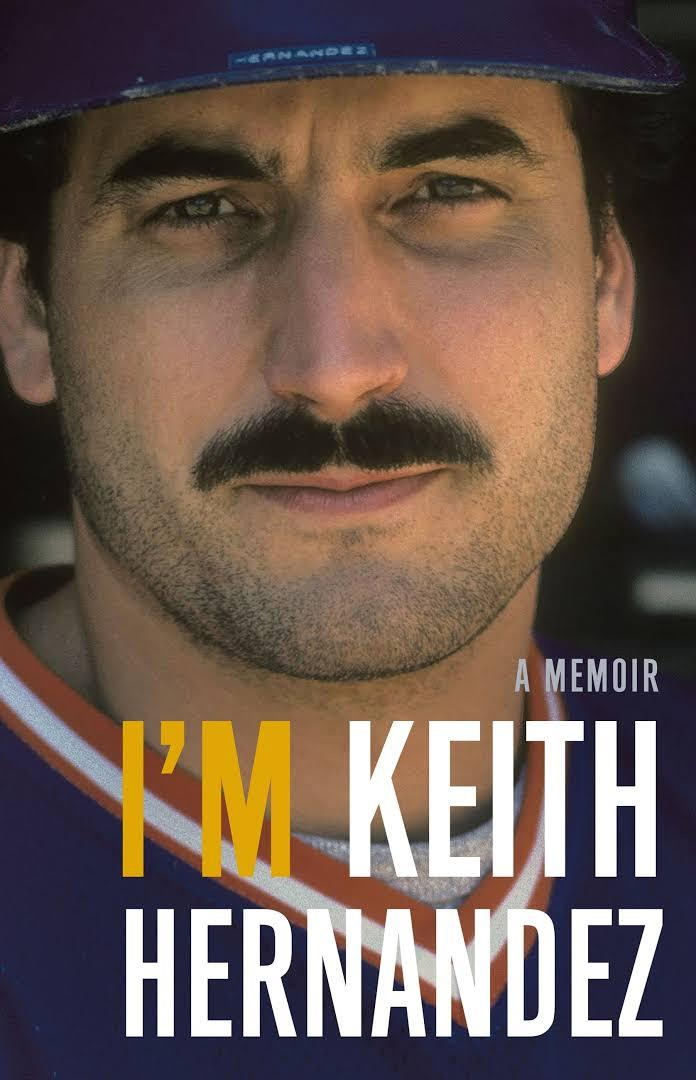 The cover of Keith Hernandez's memoir.