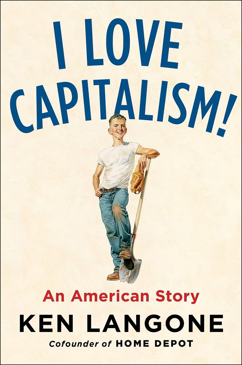 Book cover - I Love Capitalism!