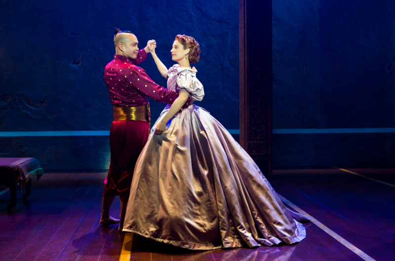 Jose Llana and Elena Shadow in The King and I