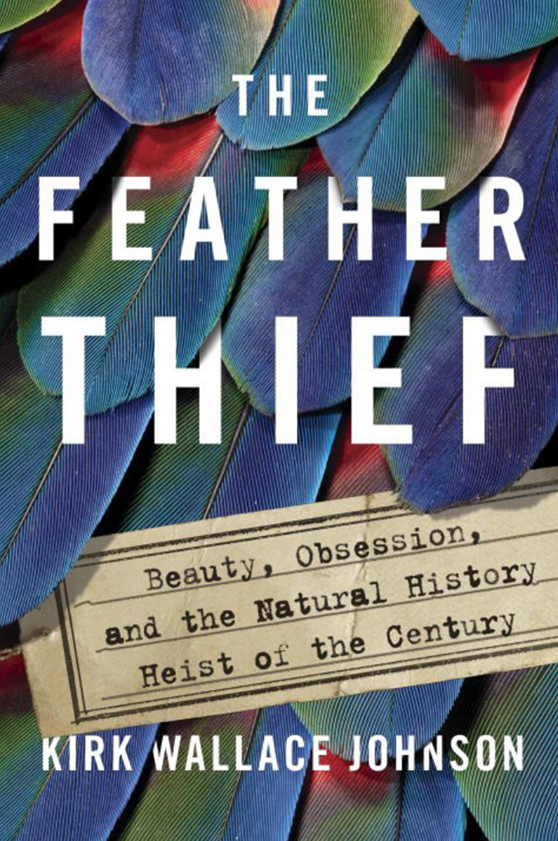 Book Cover - The Feather Thief