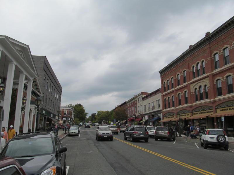 Downtown Lee, Massachusetts.