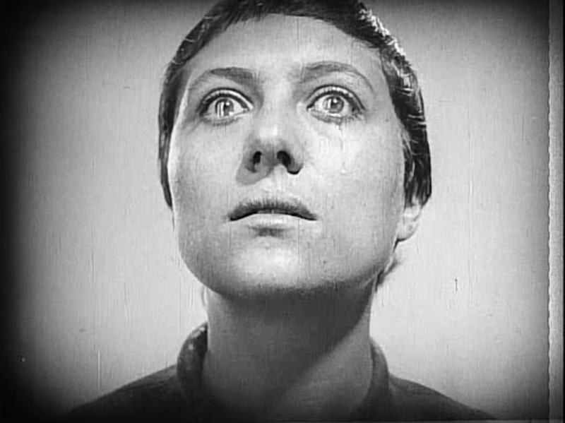 "Still from Carl Theodor Dreyer's 1928 silent film ""The Passion Of Joan Of Arc"""
